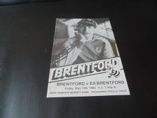 Brentford v Ex Brentford, 1988/89 [Test]